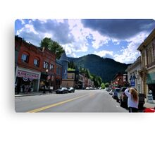 Wallace, ID Canvas Print