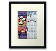 corporate calendar Framed Print
