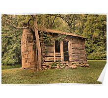 Mountain Cabin Poster