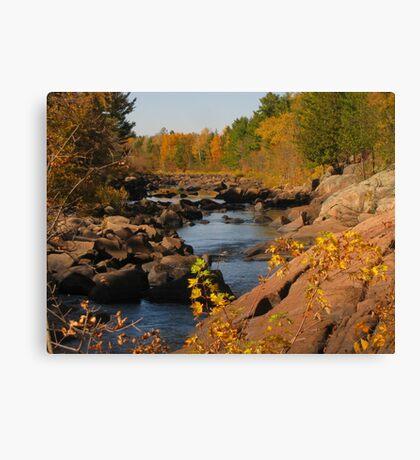 Big Falls Canvas Print
