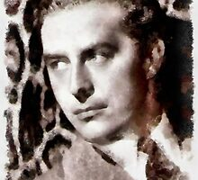 Ray Milland by John Springfield by esotericaart