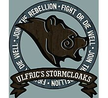 Join the Stormcloak Rebellion Photographic Print