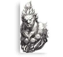 Akuma Great Demon Canvas Print