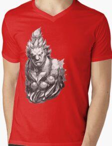 Akuma Great Demon Mens V-Neck T-Shirt