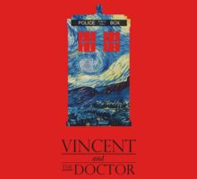 """Vincent and the Doctor"" Kids Clothes"