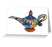 Aladdin Greeting Card
