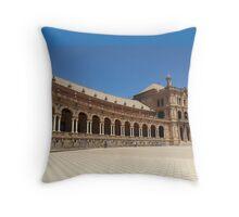 Plaza de Espana Sevilla Throw Pillow