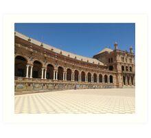 Plaza de Espana Sevilla Art Print