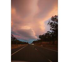 Sky highway Photographic Print