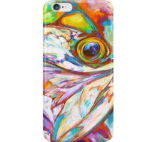 Tarpon Dreams - Colorist Marine Wildlife Painting By Savlen iPhone Case/Skin
