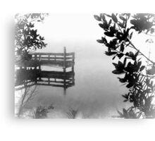 Foggy Morn on The St Lucie River Canvas Print