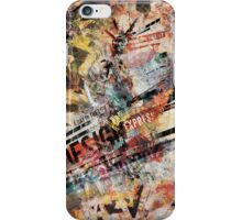 A Day in the Life (Design Express) Poster iPhone Case/Skin