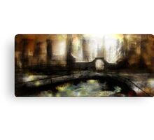 Abstract scifi Canvas Print