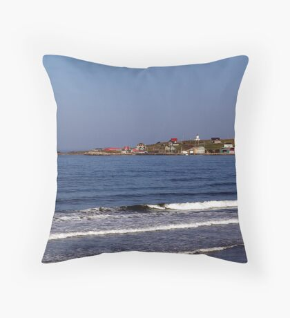 Morning - Cape St. Mary Throw Pillow