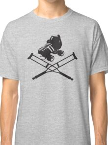 Roller Derby Crutches Classic T-Shirt