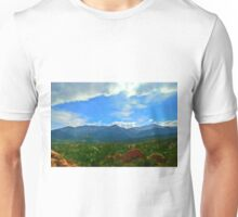View from Garden of the Gods Unisex T-Shirt