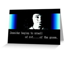 Rot... of the Grave Greeting Card