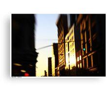 Lensbaby Sunset Canvas Print