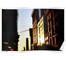 Lensbaby Sunset Poster