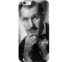 Vincent Price by John Springfield iPhone Case/Skin