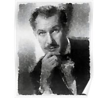 Vincent Price by John Springfield Poster