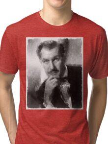 Vincent Price by John Springfield Tri-blend T-Shirt