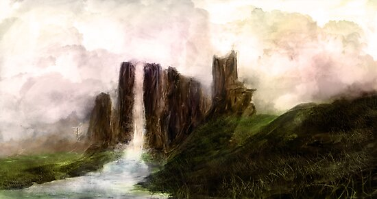 waterfall by James Suret