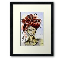 abstract portrait #1 Framed Print