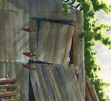 Neighbor Don's Old Barn 3 by Marsha Elliott