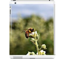 Bee on Flower iPad Case/Skin
