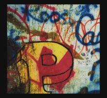 Capital P Graffiti  by clodaghsmith