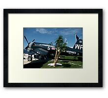 Marines Forever............. A Work Horse.... Framed Print