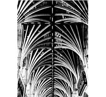 Vaulted Exeter Cathedral Photographic Print