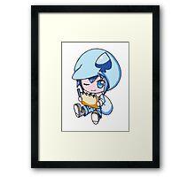 Miki Sketching Framed Print