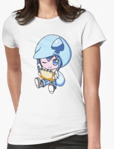 Miki Sketching Womens Fitted T-Shirt