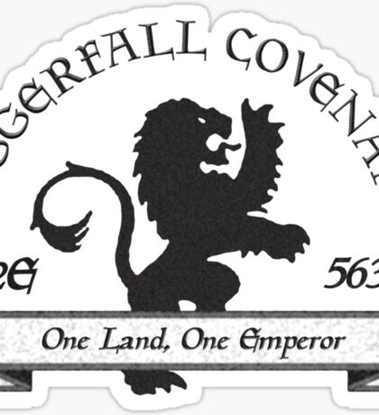 Daggerfall Covenant Sticker