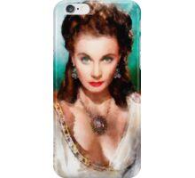 Vivien Leigh by John Springfield iPhone Case/Skin