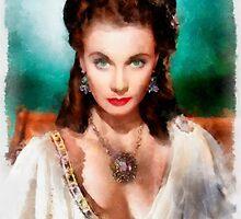 Vivien Leigh by John Springfield by esotericaart