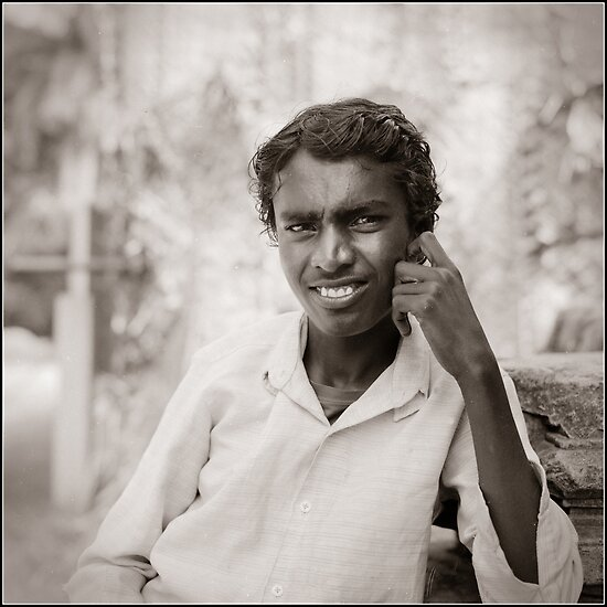 Medium Format Photography: Portrait of a boy by ashwinks