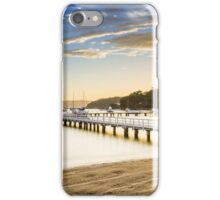 Balmoral Beach, Sydney, sunrise iPhone Case/Skin