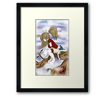 So High-up Framed Print