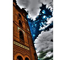 Blue Demise  Photographic Print