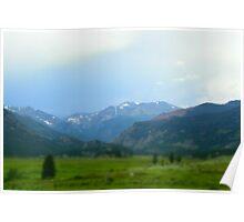 Mountain in RMNP Poster