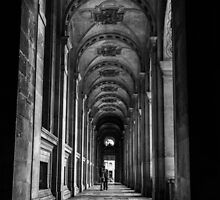 Behind the Louvre by William Rottenburg