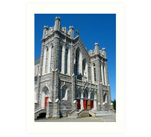 St Bernard Catholic Church II Art Print