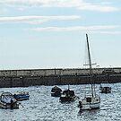 Port William Harbour, Scotland by sarnia2