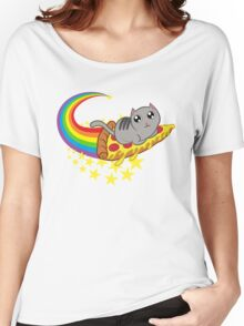 Pizza cat Women's Relaxed Fit T-Shirt