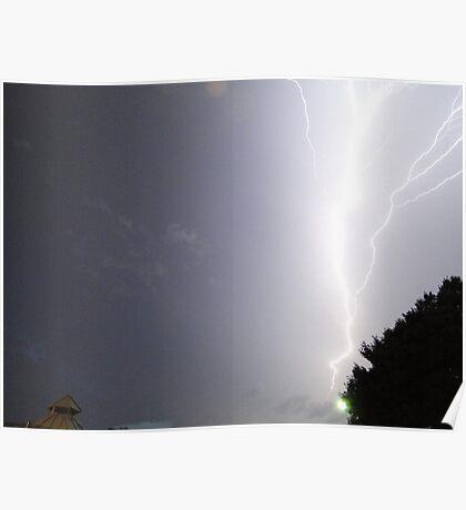 Summer Lightning Storm 3 Poster