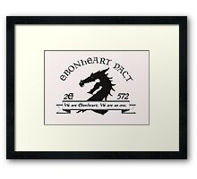 Ebonheart Pact Framed Print