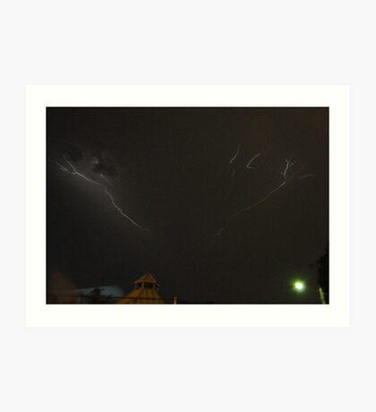 Summer Lightning Storm 6 Art Print